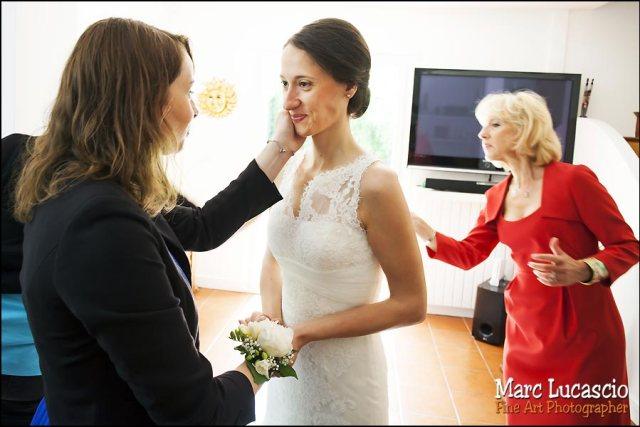Préparation mariage Versailles