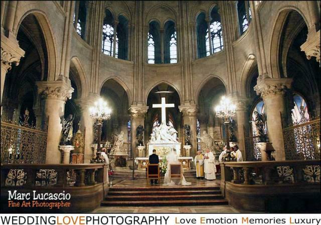 Notre Dame de Paris wedding photography