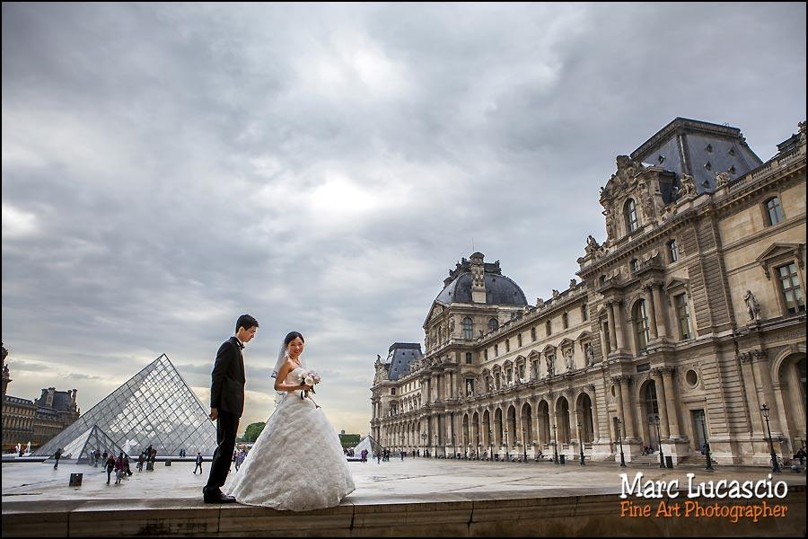 couple chinois à Paris
