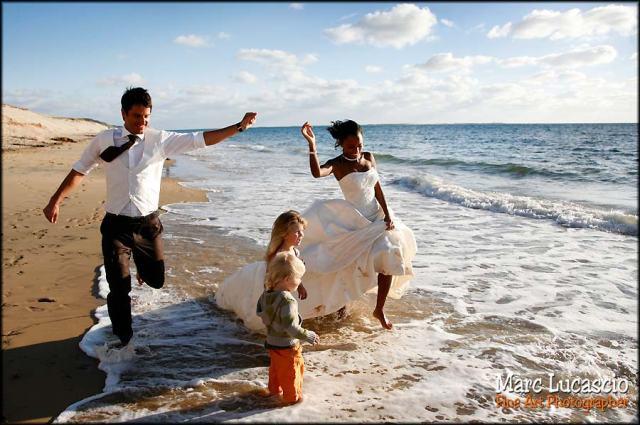 photo mariage pyla sur mer