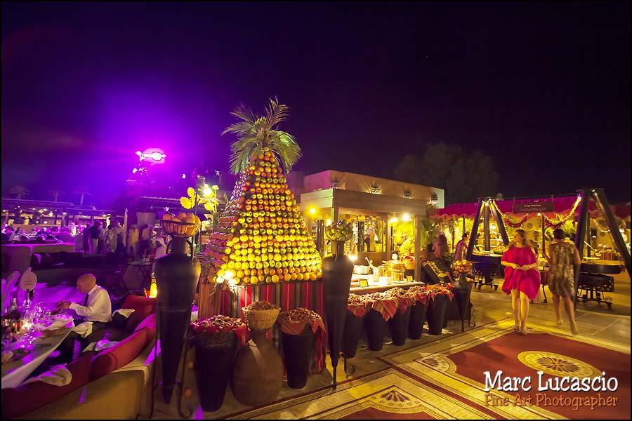 Bab al Shams décoration mariage