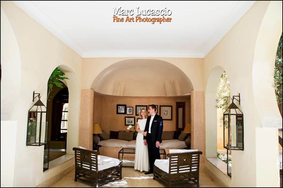 Photo de couple mariage marrakech