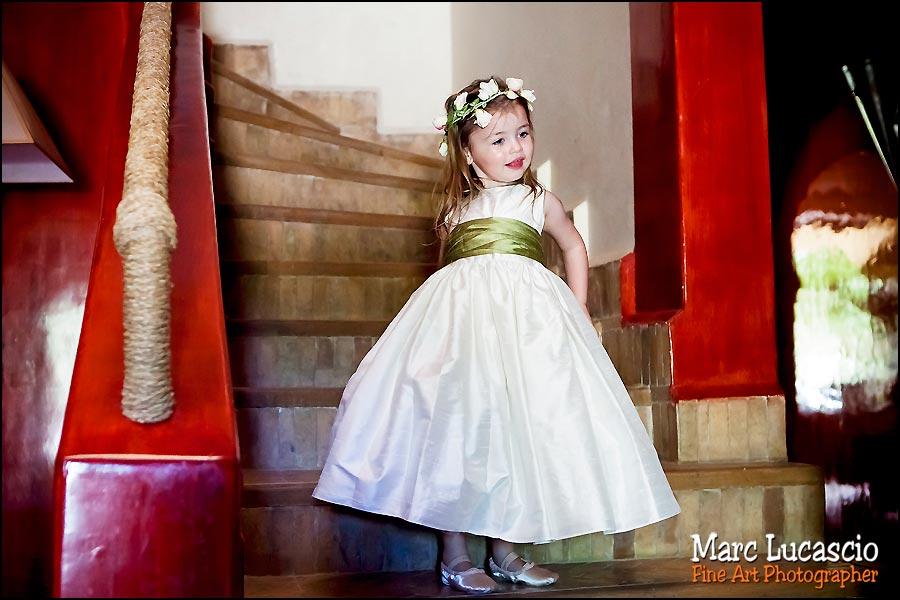 mariage à Marrakech petite fille