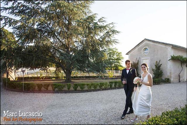 image mariage saint emilion