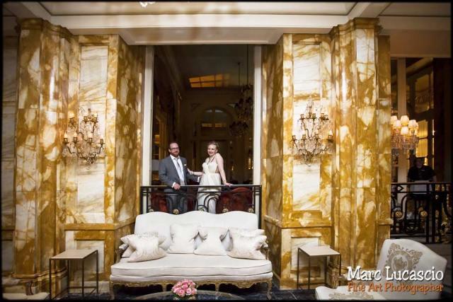 mariage paris portrait Crillon palace
