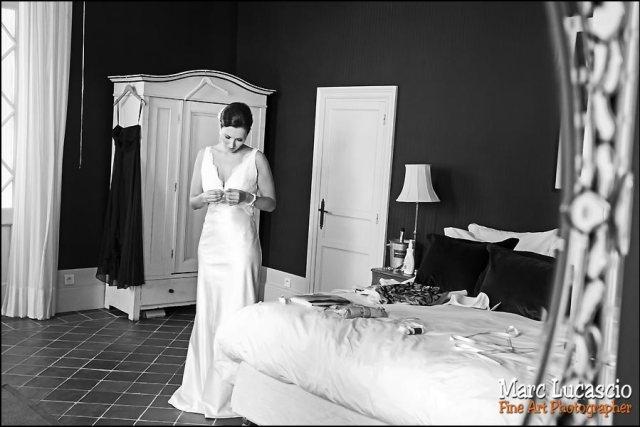 mariage saint emilion la mariée dans le miroir