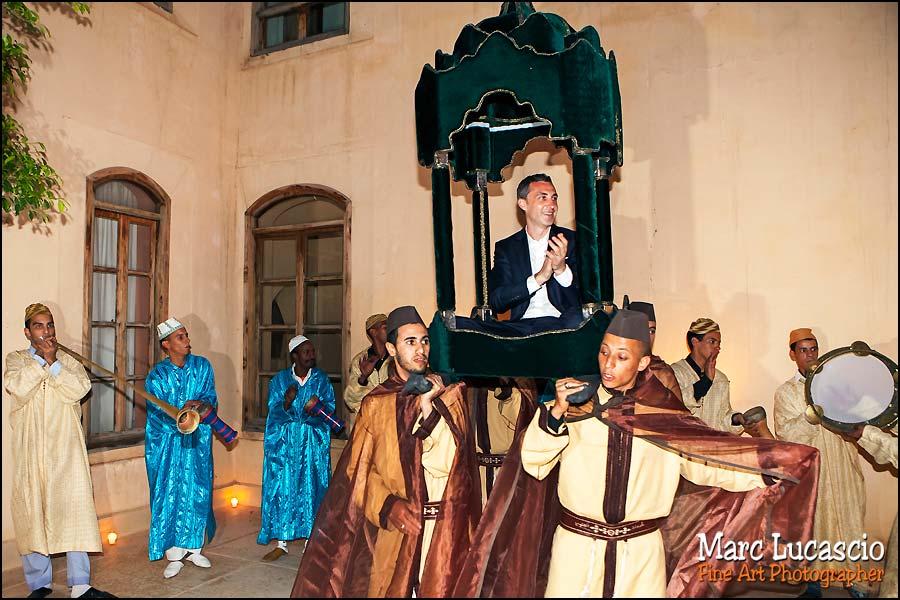 Amaria à marrakech pour un beau mariage
