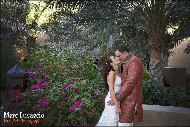 Bab al Shams photo couple