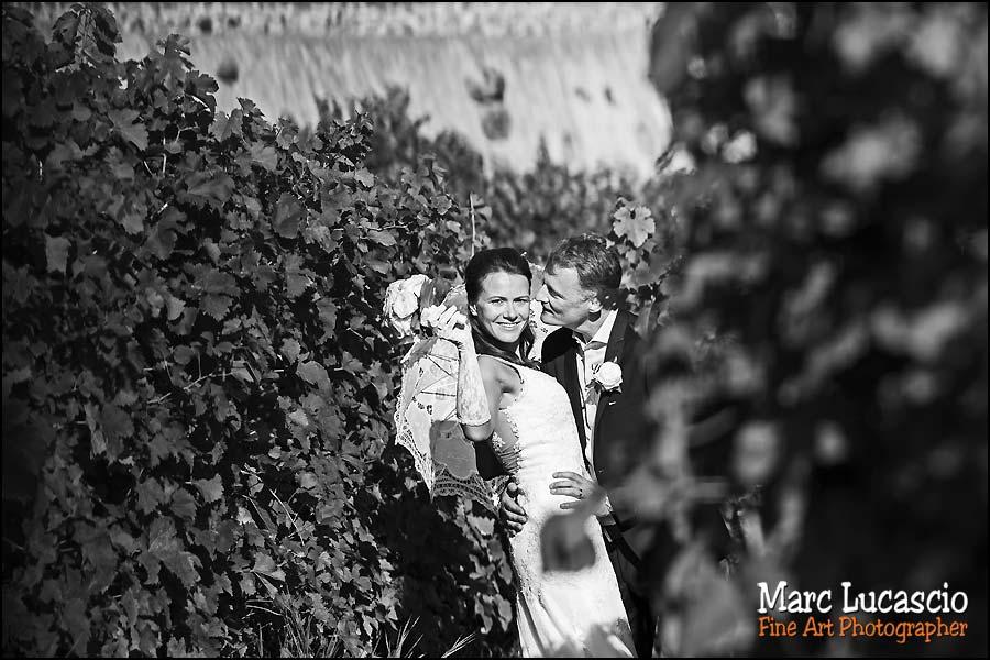 photo-couple noir et blanc mariage montreux