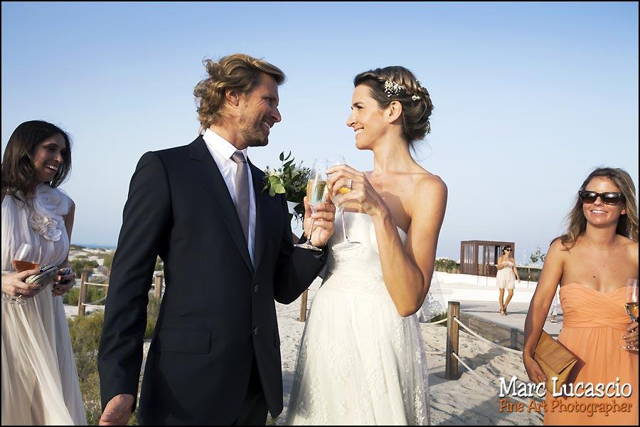 champagne mariage oriental