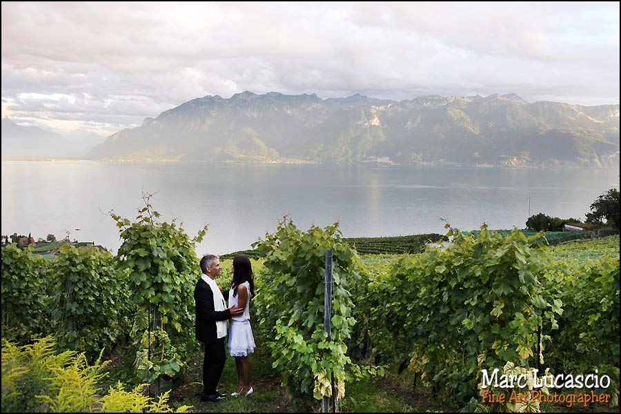 mariage Montreux en Suisse
