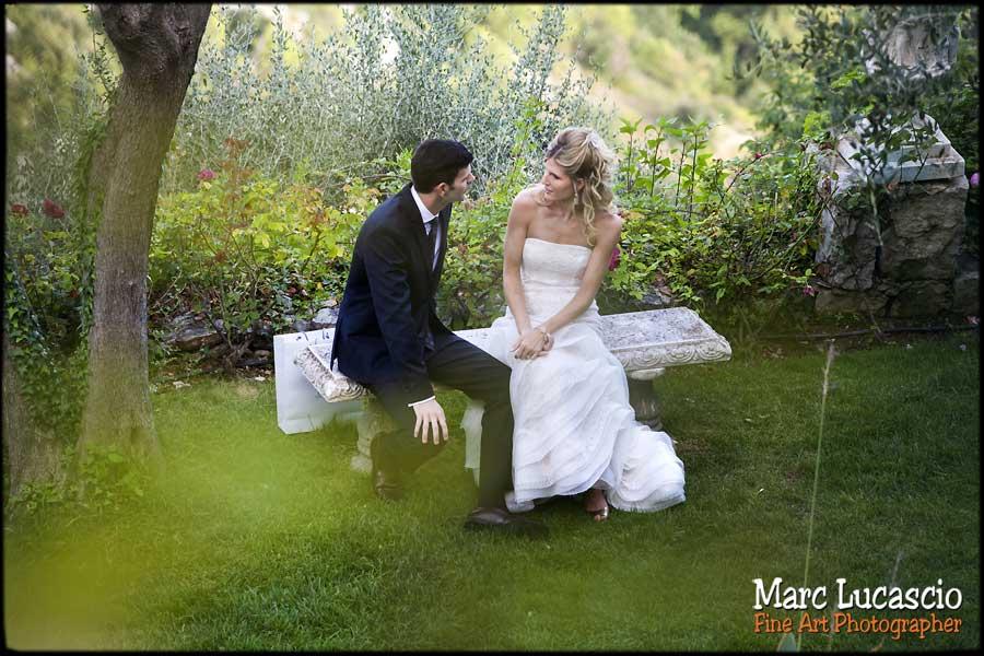 photo mariage Eze la Chèvre d'or