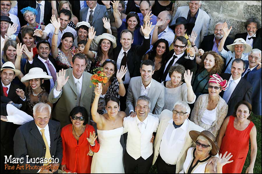 photo mariage groupe île d'ogoz