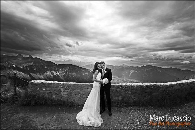 mariage Montreux alpes
