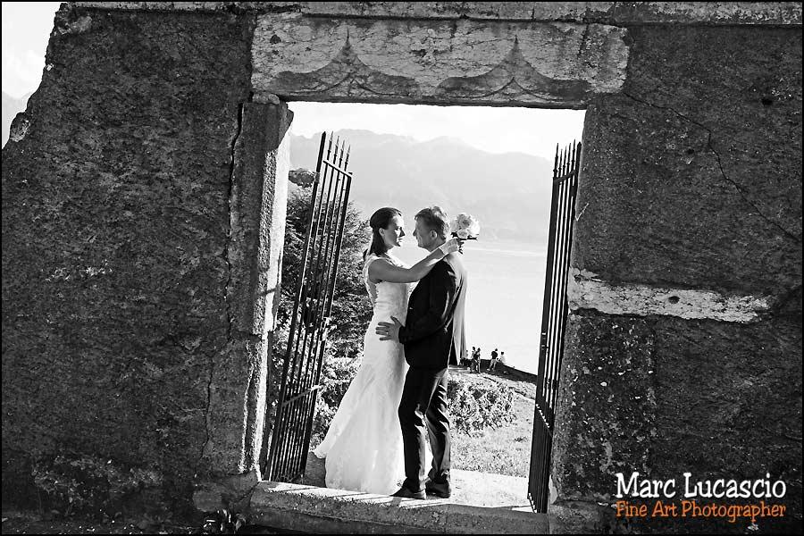 mariage Montreux noir et blanc