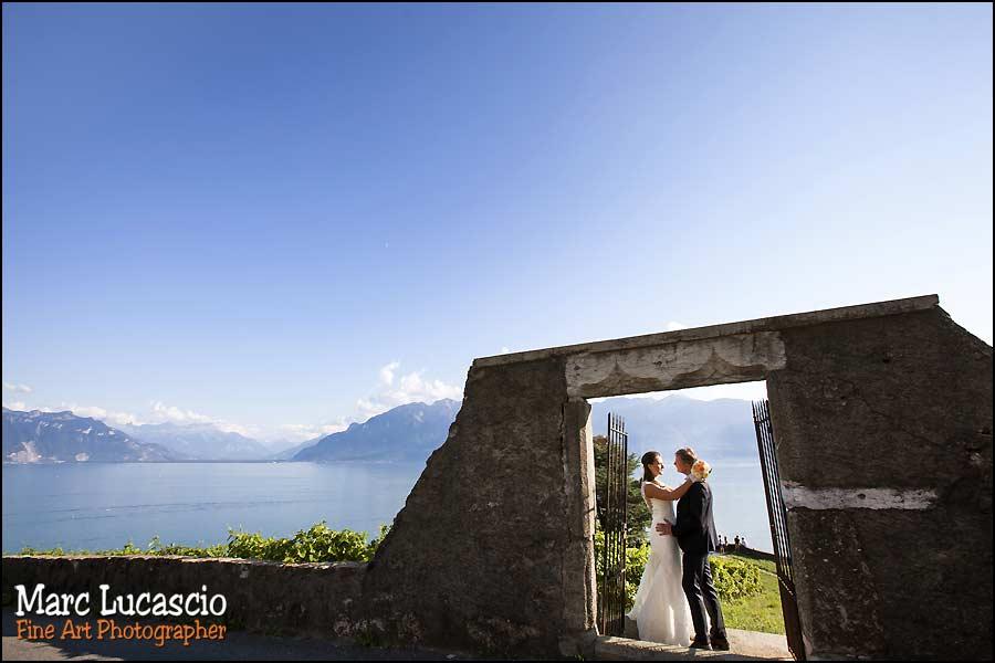 mariage Montreux composition cadrage