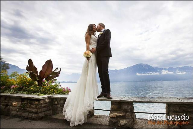 mariage Montreux composition grand angle