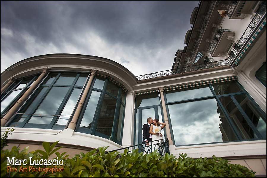 mariage Montreux palace le fairmont