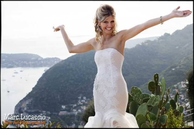 photo mariage panorama cote d'azur