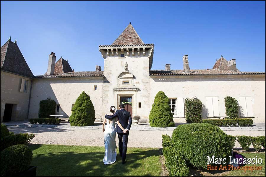 photo mariage saint emilion chateau soulac