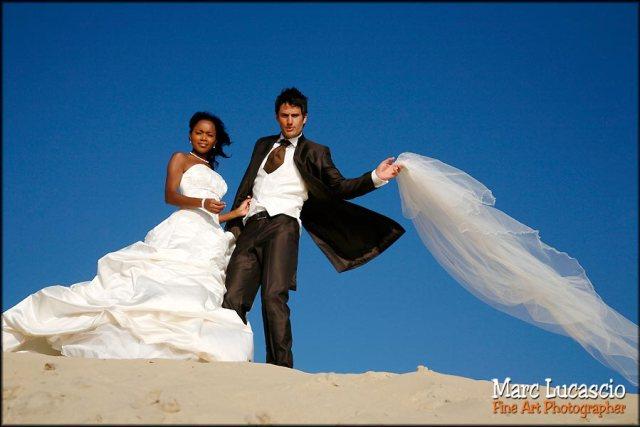 mariage Arcachon sur la dune du Pyla