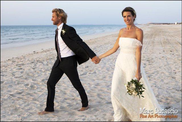 photo mariage plage monte carlo beach Abu dhabi