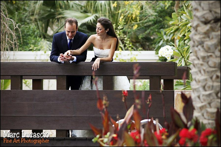 dubai photo mariage golf jardin