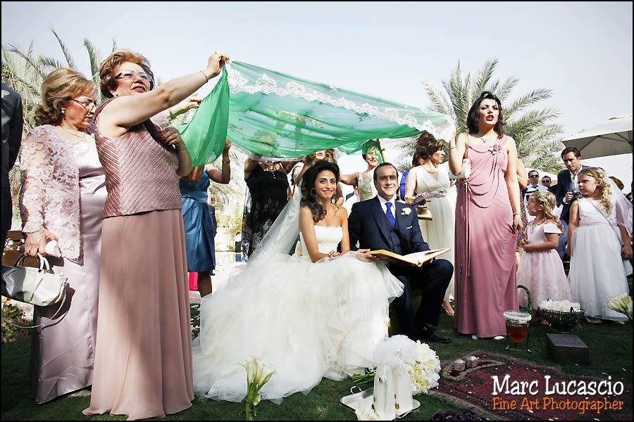 mariage tooreh portrait à Dubaï
