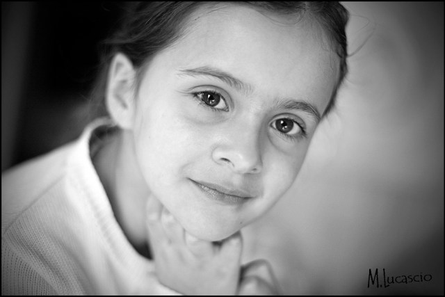 photo portrait enfant naturel