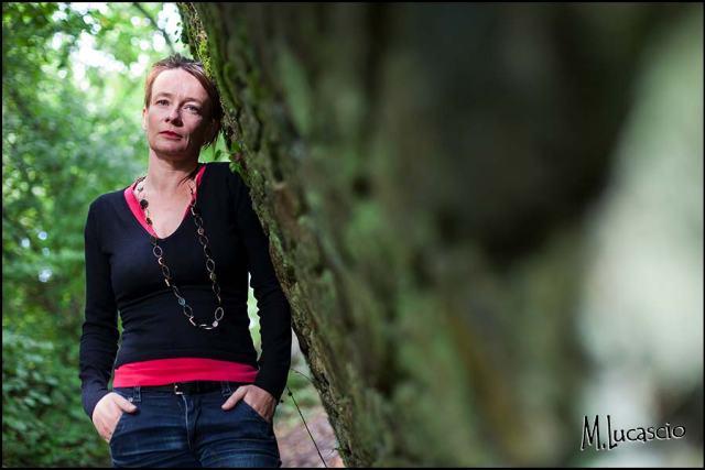 photo portrait femme quarantaine calvados
