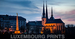Luxembourg Prints
