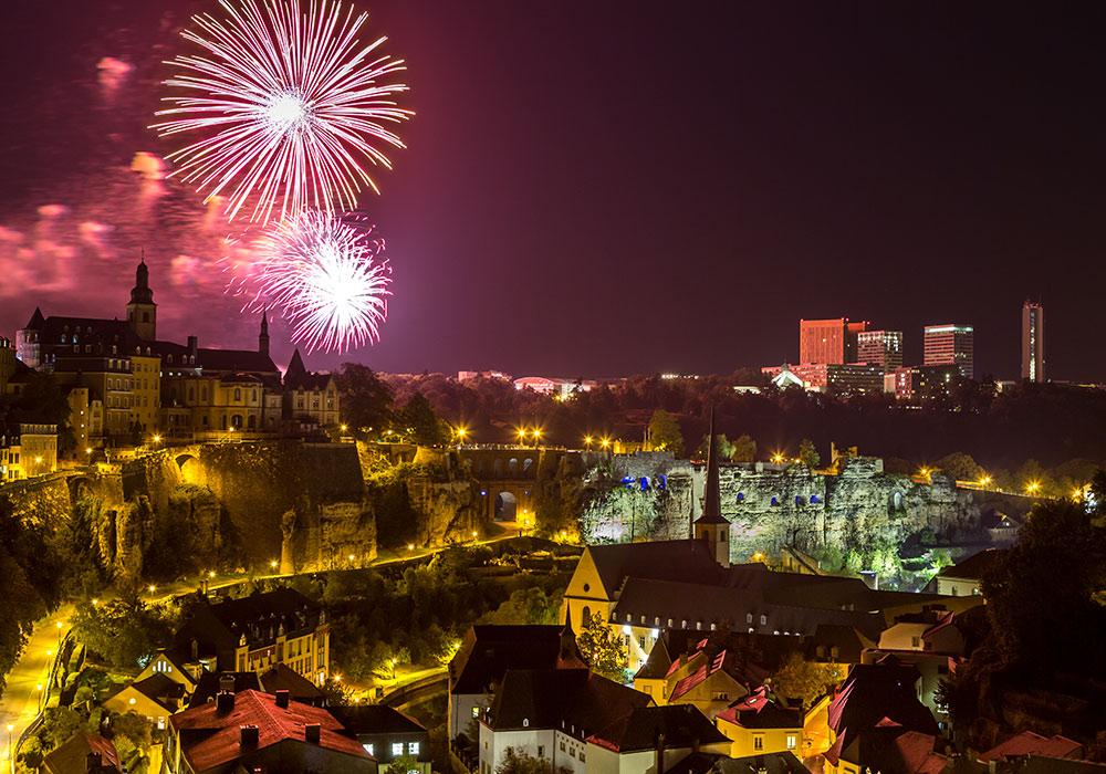 Schueberfouer fireworks