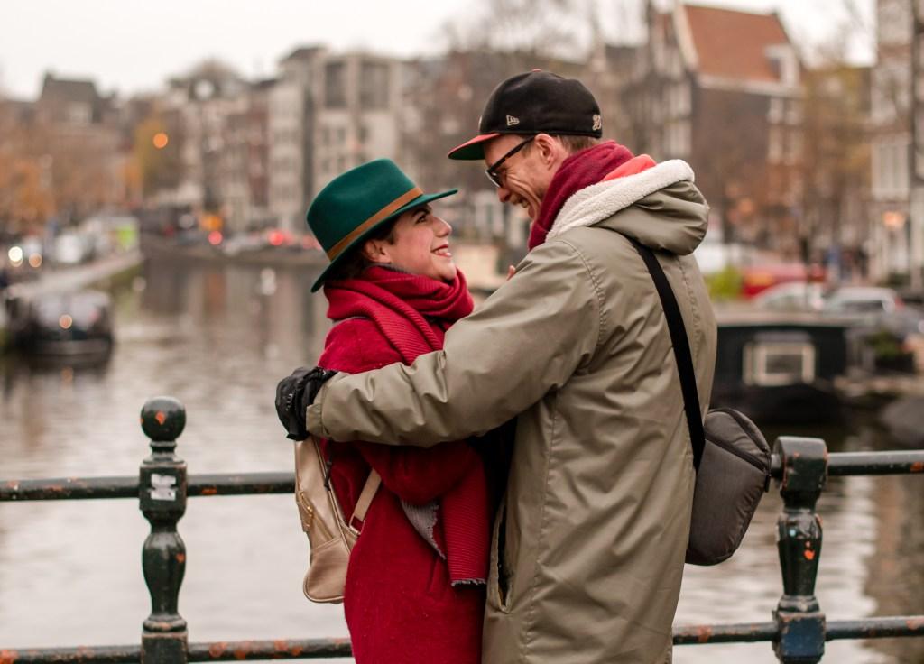 Sarah & Rob engagement in Amsterdam