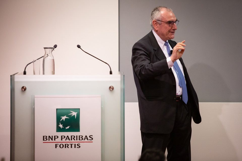 Event photographer in Brussels for BNP Pariba Fortis