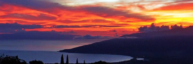 Maui Photograph of Sunset