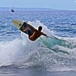 Ian Repollo Surfing