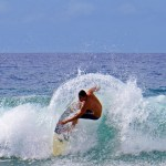 Surfing in Lahaina