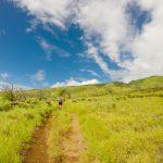 """Falling Behind"" Lahaina Pali Trail"
