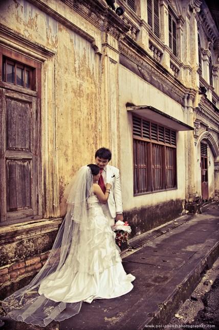 pre wedding photography at phuket town
