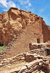 Pueblo Bonito Anasazi Ruin - New Mexico