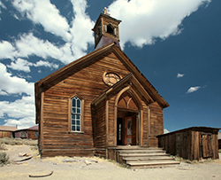 Bodie Ghost Town Methodist Church