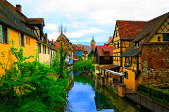 Colmar on the Lauch River, France