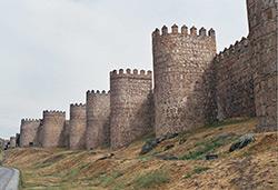 Avila Walled City - Spain