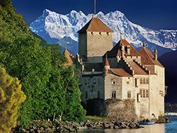 Castle Chillon - Montreux, Switzerland