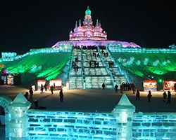 Harbin Ice and Snow Festival - China