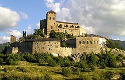 Valere Castle - Sion -Valais - Switzerland