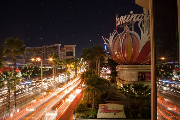 Photographers of Las Vegas - Architectural Photography - vegas strip flamingo