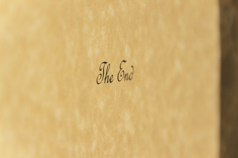 Photographers of Las Vegas - Concept Photography - The End book style ending