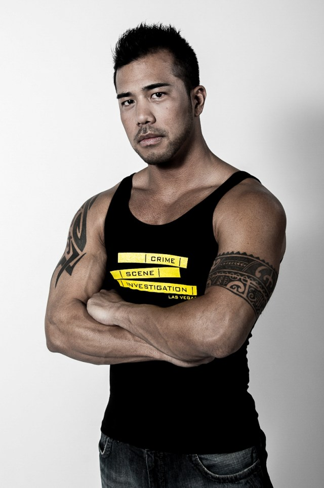 Photographers of Las Vegas - Product Photography - tank top studio with model