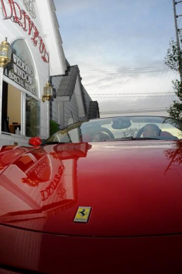 Photographers of Las Vegas - Wedding Photography - wedding couple at the drive up window